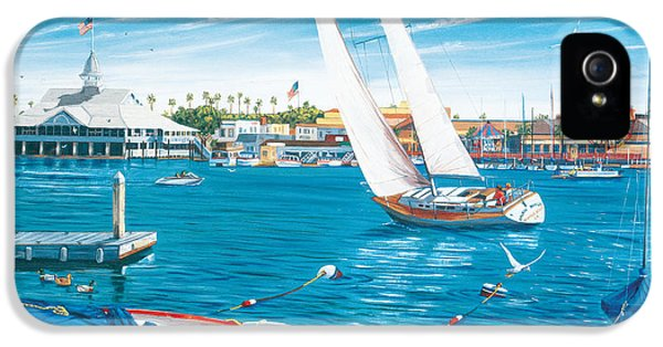 Balboa iPhone 5 Cases - Sunday Sail iPhone 5 Case by Steve Simon