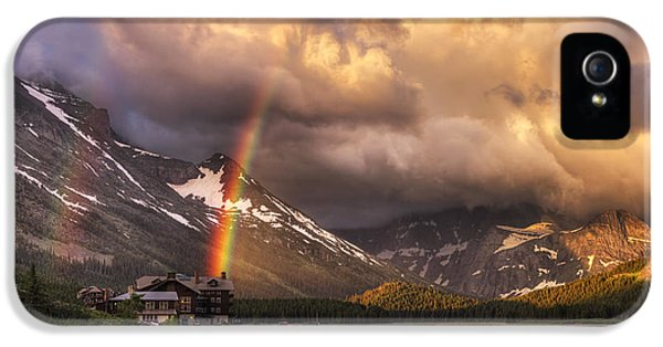 Spectrum iPhone 5 Cases - Sunrise Rainbow iPhone 5 Case by Mark Kiver
