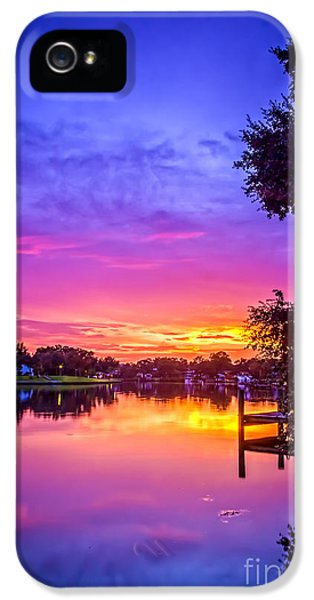 Bayou iPhone 5 Cases - Sunset at the Pier iPhone 5 Case by Marvin Spates
