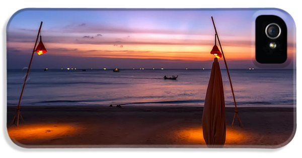 Hdr iPhone 5 Cases - Sunset Lanta Island  iPhone 5 Case by Adrian Evans