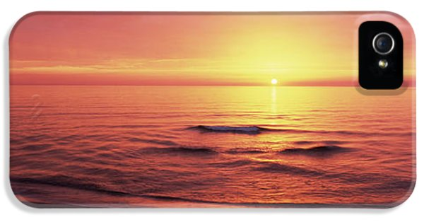 Sunset Over The Sea, Venice Beach IPhone 5 / 5s Case by Panoramic Images