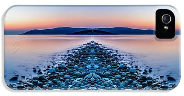Hdr iPhone 5 Cases - Sunset Way iPhone 5 Case by Adrian Evans