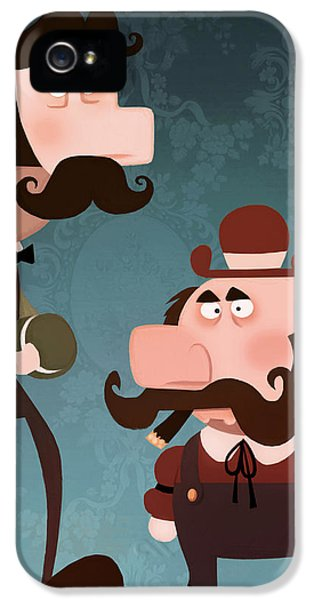 Brother iPhone 5 Cases - Super Bros. iPhone 5 Case by Adam Ford
