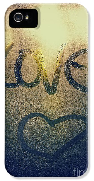 Waterdrop iPhone 5 Cases - Sweet Heart iPhone 5 Case by Tim Gainey