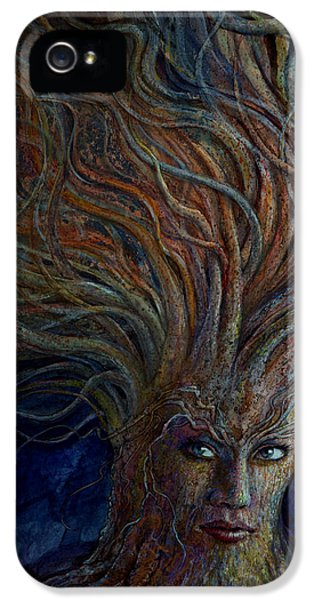 Whimsy iPhone 5 Cases - Swirling Beauty iPhone 5 Case by Frank Robert Dixon