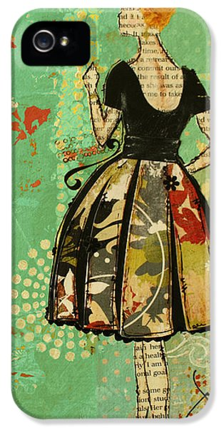 Dress iPhone 5 Cases - Take Me Away iPhone Case Art  iPhone 5 Case by Janelle Nichol