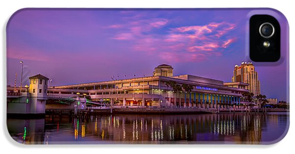 Meeting iPhone 5 Cases - Tampa Convention Center at Dusk iPhone 5 Case by Marvin Spates