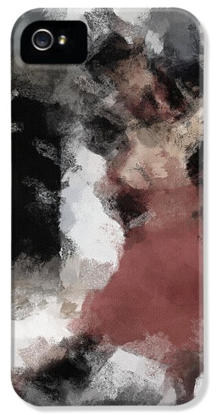 Expressive iPhone 5 Cases - Tango 2 iPhone 5 Case by Ayse Deniz