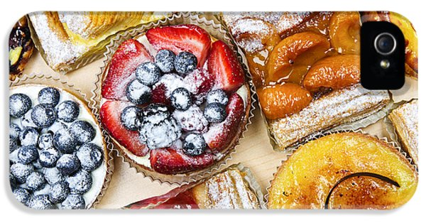 Danish iPhone 5 Cases - Tarts and pastries iPhone 5 Case by Elena Elisseeva