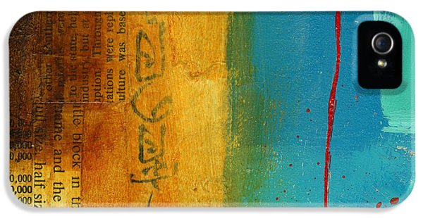 Grid iPhone 5 Cases - Teeny Tiny Art 111 iPhone 5 Case by Jane Davies