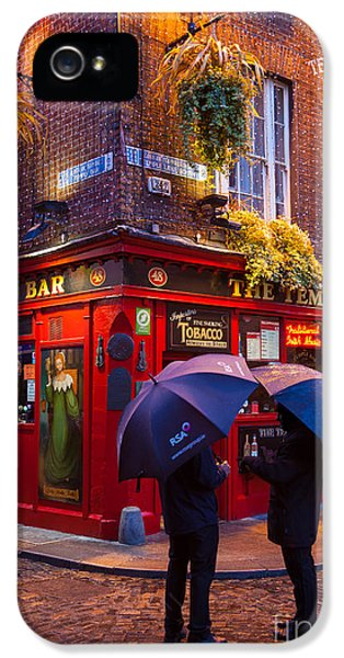 Temple Bar IPhone 5 / 5s Case by Inge Johnsson