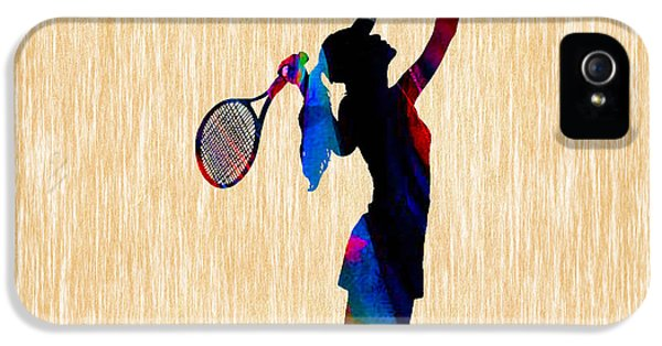 Tennis Game IPhone 5 / 5s Case by Marvin Blaine