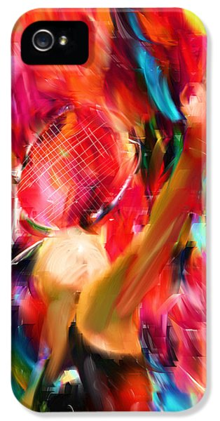 Tennis I IPhone 5 / 5s Case by Lourry Legarde