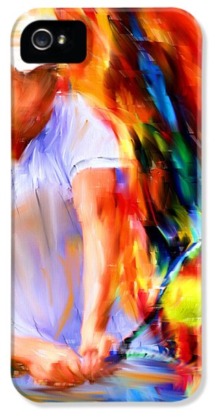 Tennis II IPhone 5 / 5s Case by Lourry Legarde