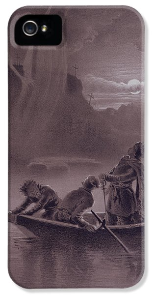 Ghost iPhone 5 Cases - Terrible Vengeance iPhone 5 Case by Vladimir Egorovic Makovsky