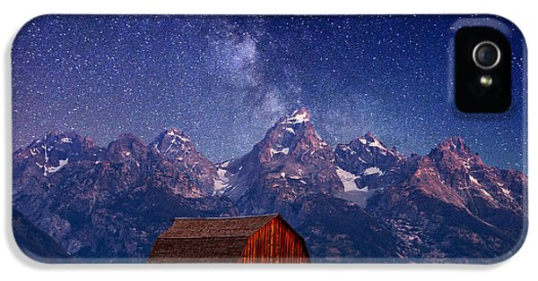 Stars iPhone 5 Cases - Teton Nights iPhone 5 Case by Darren  White