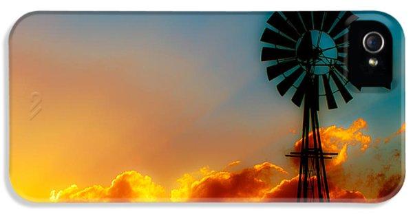 Texas iPhone 5 Cases - Texas Sunrise iPhone 5 Case by Darryl Dalton