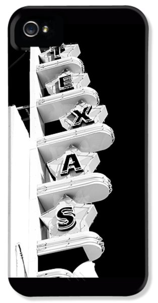 Texas iPhone 5 Cases - Texas Theater iPhone 5 Case by Darryl Dalton