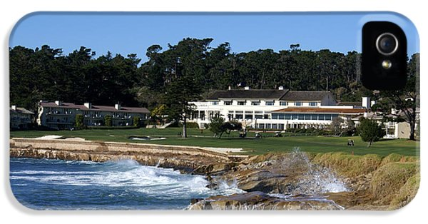 The 18th At Pebble Beach IPhone 5 / 5s Case by Barbara Snyder