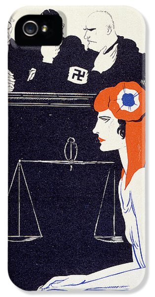 Milliner iPhone 5 Cases - The Accused iPhone 5 Case by Paul Iribe