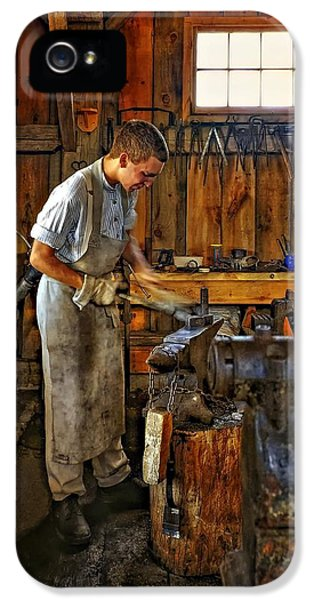 Workbench iPhone 5 Cases - The Apprentice HDR iPhone 5 Case by Steve Harrington