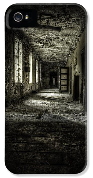 Dirty iPhone 5 Cases - The Asylum Project - Corridor of Terror iPhone 5 Case by Erik Brede