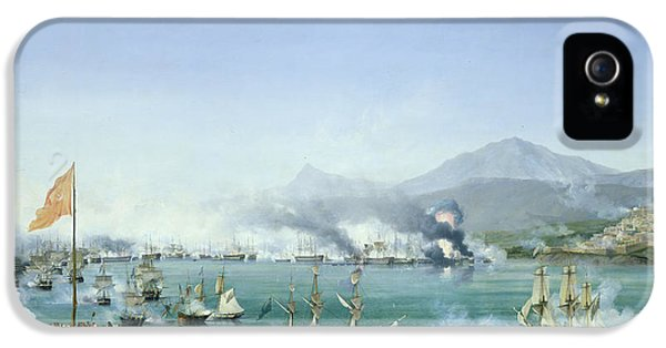 20 iPhone 5 Cases - The Battle of Navarino iPhone 5 Case by Ambroise Louis Garneray