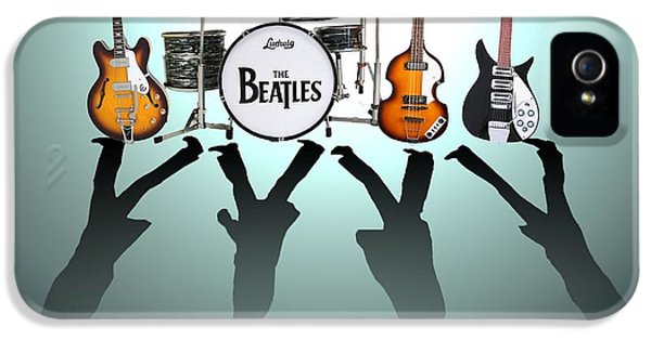 Icon iPhone 5 Cases - The Beatles iPhone 5 Case by Lena Day