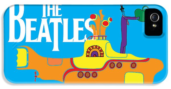The Beatles iPhone 5 Cases - The Beatles No.11 iPhone 5 Case by Caio Caldas