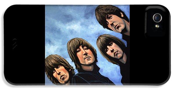 The Beatles Rubber Soul IPhone 5 / 5s Case by Paul Meijering
