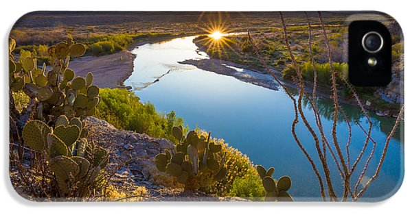 Reflective iPhone 5 Cases - The Big Bend iPhone 5 Case by Inge Johnsson