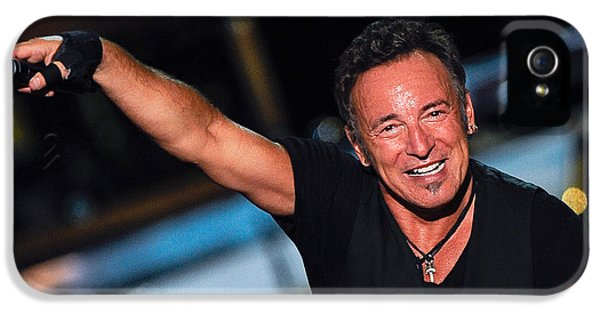 Springsteen iPhone 5 Cases - The Boss iPhone 5 Case by Rafa Rivas