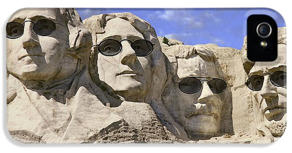National Monuments iPhone 5 Cases - The Boys Of Summer 2 Panoramic iPhone 5 Case by Mike McGlothlen