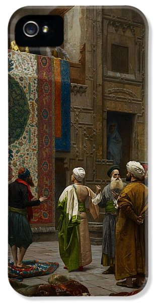 The Carpet Merchant IPhone 5 / 5s Case by Jean Leon Gerome