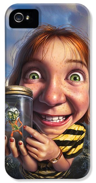 Bug iPhone 5 Cases - The Collector iPhone 5 Case by Mark Fredrickson
