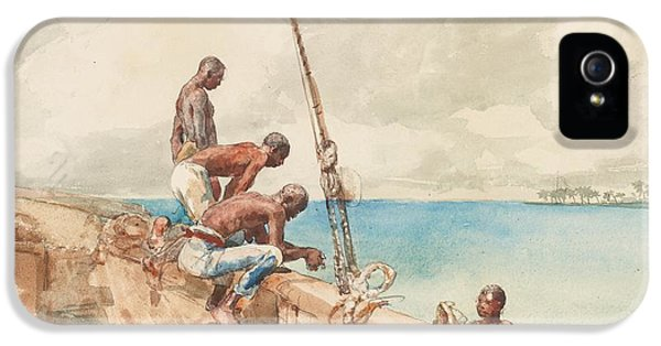 The Conch Divers IPhone 5 / 5s Case by Winslow Homer