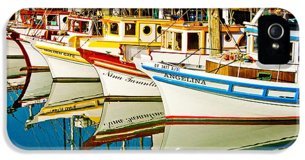 Crabbing iPhone 5 Cases - The Crab Fleet iPhone 5 Case by Bill Gallagher
