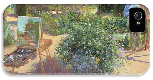 Painter iPhone 5 Cases - The Crossing, 1997 Oil On Canvas iPhone 5 Case by Timothy Easton