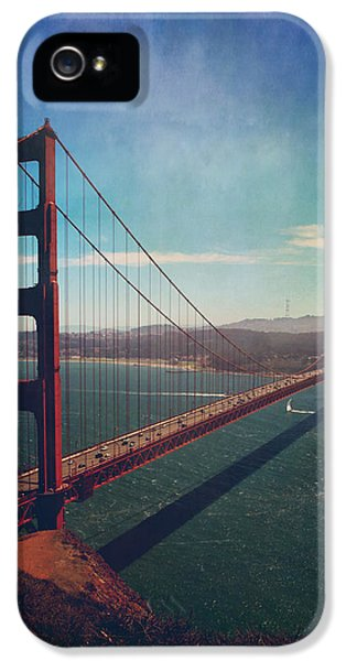Cable iPhone 5 Cases - The Crossing iPhone 5 Case by Laurie Search