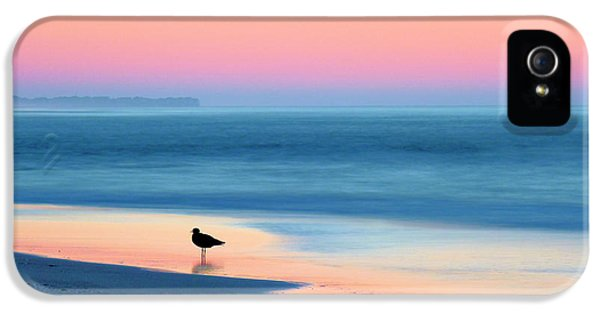 Pink Sunrise iPhone 5 Cases - The Day Begins iPhone 5 Case by JC Findley