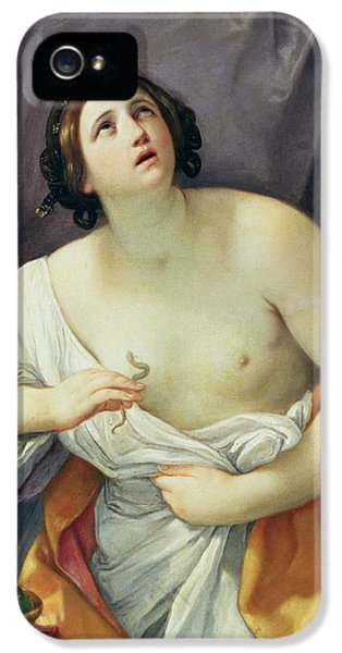Poisonous iPhone 5 Cases - The Death of Cleopatra iPhone 5 Case by Guido Reni