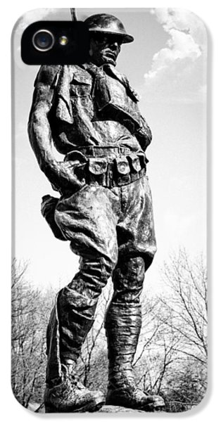 Gi iPhone 5 Cases - The Doughboy - Tribute to the American Expeditionary Forces of World War 1 iPhone 5 Case by Gary Heller
