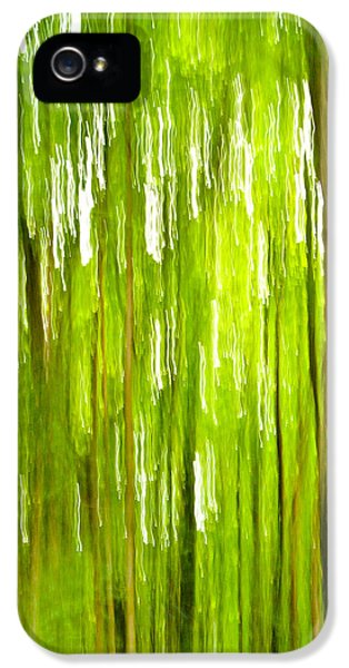 Environment Concept Art iPhone 5 Cases - The Emerald Forest iPhone 5 Case by Bill Gallagher