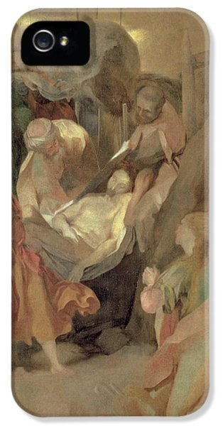 Burial iPhone 5 Cases - The Entombment of Christ iPhone 5 Case by Barocci