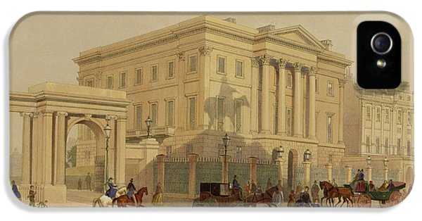 The Exterior Of Apsley House, 1853 IPhone 5 / 5s Case by English School