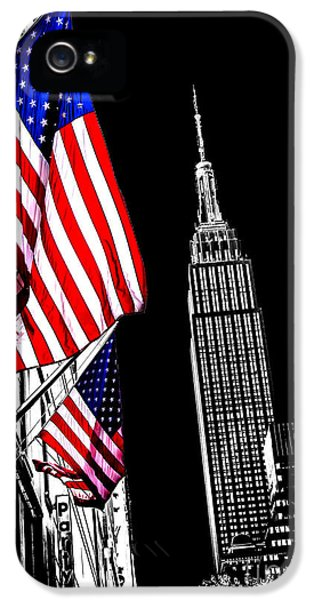 Empire iPhone 5 Cases - The Flag That Built An Empire iPhone 5 Case by Az Jackson