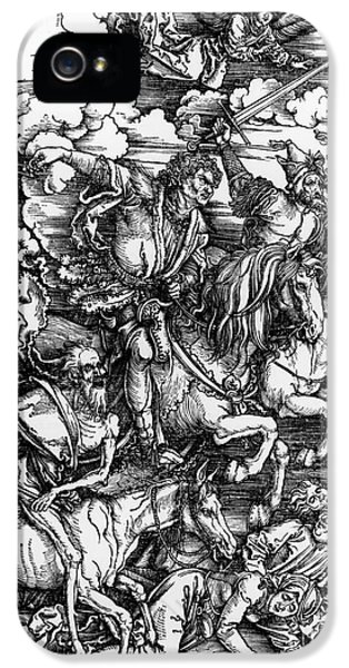 The Four Horsemen Of The Apocalypse IPhone 5 / 5s Case by Albrecht Durer