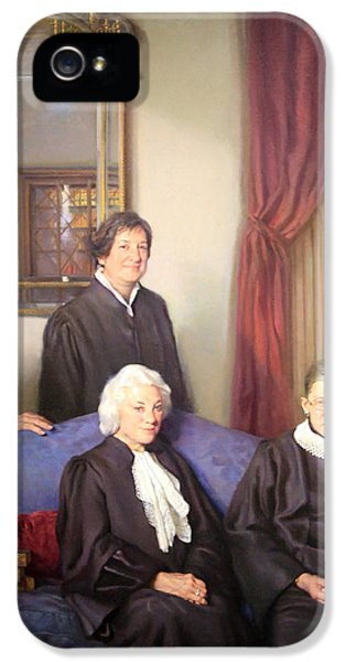 Smithsonian iPhone 5 Cases - The Four Justices -- The First Women On The Supreme Court iPhone 5 Case by Cora Wandel