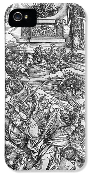 The Four Vengeful Angels IPhone 5 / 5s Case by Albrecht Durer or Duerer