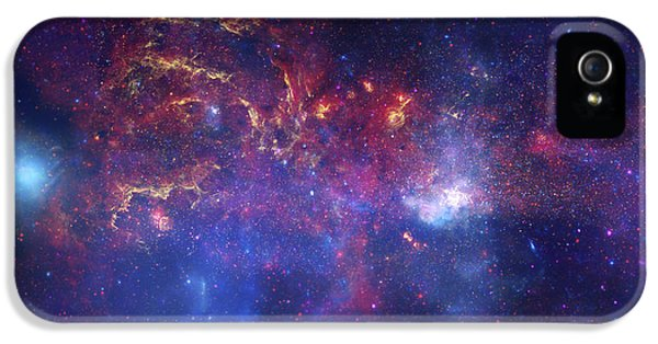 Central Division iPhone 5 Cases - The Galactic Center of the Milky Way iPhone 5 Case by Adam Mateo Fierro